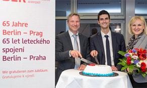 Czech Airlines' Berlin service turns 65; Ryanair celebrates 1.5 million passengers in Bydgoszcz and 200,000 in Växjö Småland