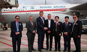 Sichuan Airlines serves its first Australian destination from Chengdu