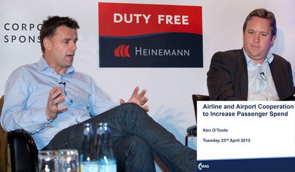 Ryanair's ancillary revenue boss Walsh and ex-Ryanair O'Toole