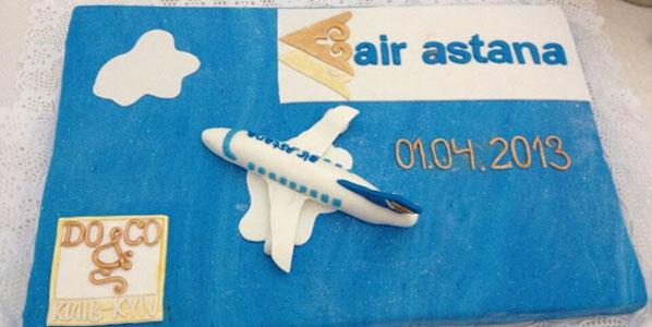 Cake 17: Air Astana's Kiev Borispol to Astama & Almaty