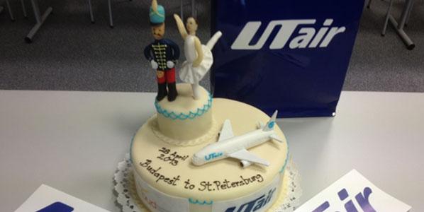 UTAir inaugurates flights from St. Petersburg to Budapest