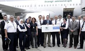 Iraqi Airways lands in Düsseldorf