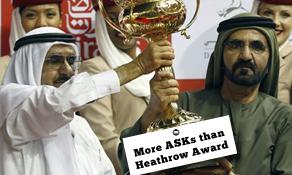 London Heathrow to lose world #1 ASKs ranking to Dubai