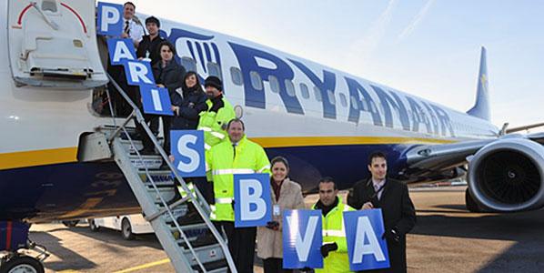 Paris BVA stands for Paris Beauvais Tillé Airport (to give it its full, official name).