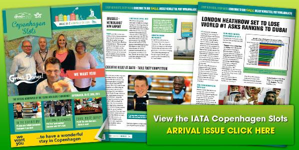 Copenhagen IATA Slots Arrival Issue