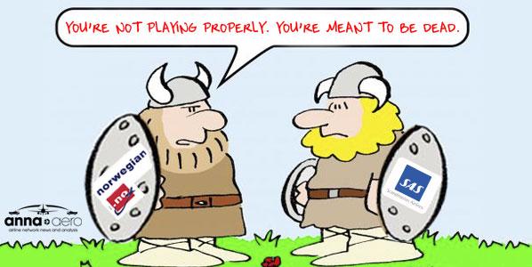 Viking themed comic