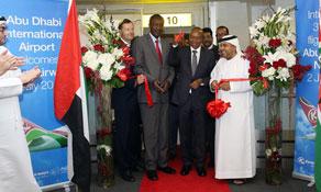 Kenya Airways connects its Nairobi hub and Abu Dhabi