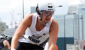 Award-winning London City Airport backs anna.aero in third-place London Triathlon finish