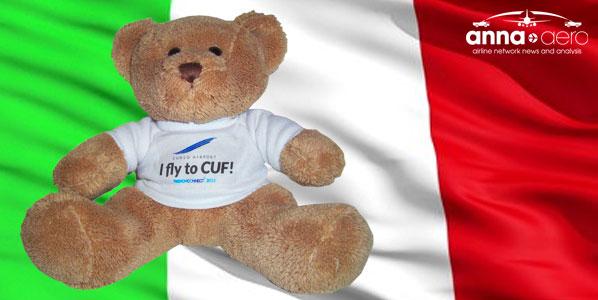 I fly to CUF teddy ebar