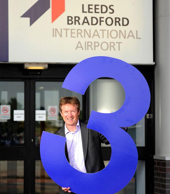 Tony Hallwood, Leeds Bradford Airport's Marketing Director