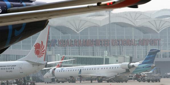 The new Kuala Namu International Airport which opened on 25 July