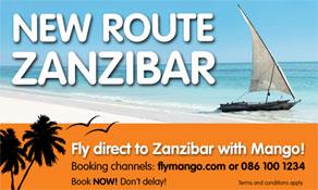 Mango makes Zanzibar first international destination