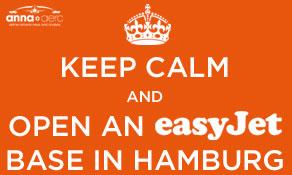 easyJet gets ready to select base #23 – Hamburg Airport