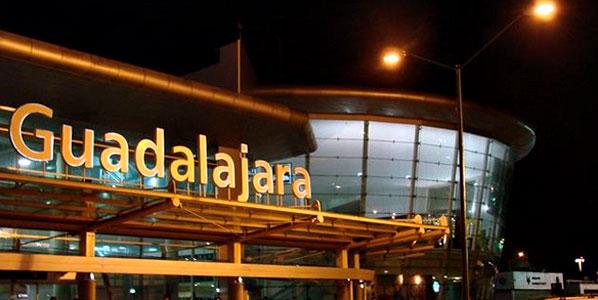 The front of Guadalajara Airport