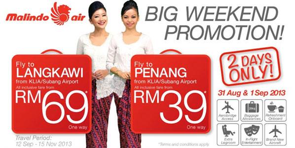 Malindo Air adds Langkawi and Penang from KUL