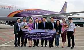 Cambodia Angkor Air starts Siem Reap to Guangzhou link