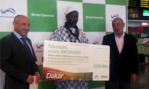 BinterCanarias launches weekly flights to Dakar