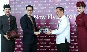 Qatar Airways makes Clark its second Philippine destination