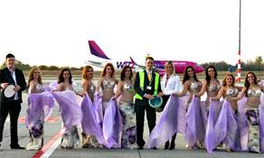 Wizz Air lands in Dubai Al Maktoum; adds Tel Aviv route