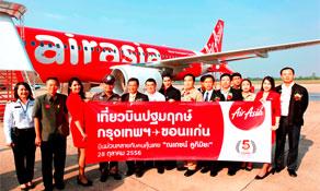 Thai AirAsia adds Khon Kaen route from Bangkok base