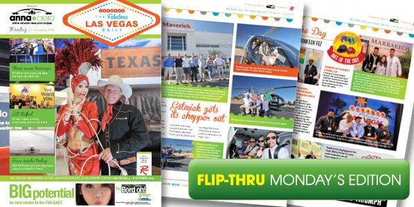 anna.aero Las Vegas Daily - Monday's edition