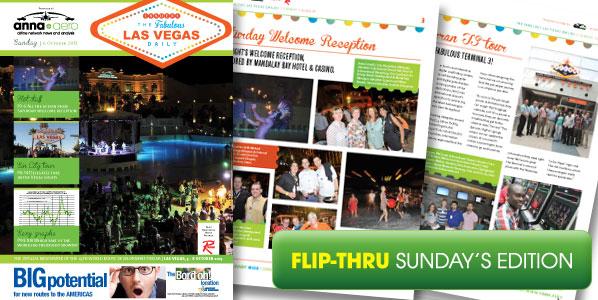anna.aero Las Vegas Daily - Sunday's edition