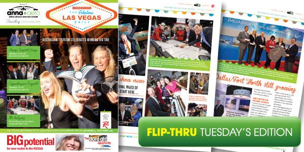 anna.aero Las Vegas Daily - Tuesday's edition