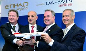 Etihad Airways makes Etihad Regional as it buys 33.3% of Darwin Airline