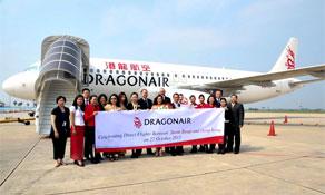 Dragonair adds Siem Reap to its Hong Kong network