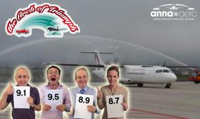 "Tenerife Norte wins anna.aero ""Arch of Triumph"" as Al Maktoum International – Dubai World Central makes prize presentation"