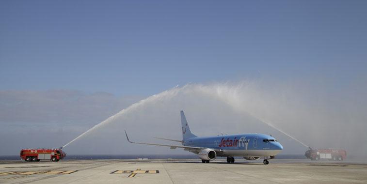 Jetairfly Paris Orly to Fuerteventura 10 November