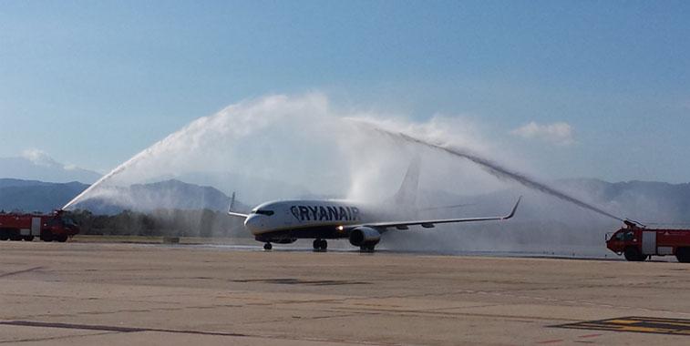 Ryanair Girona to Rabat 7 November