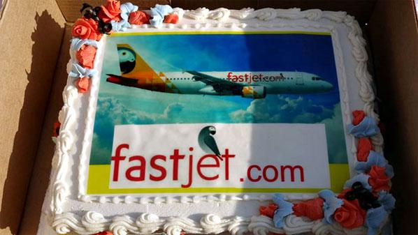 Cake of the Week Vote: Cake 10 - fastjet's Dar es Salaam to Mbeya