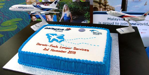 Cake of the Week Vote: Cake 11 - Malaysia Airlines Darwin to Kuala Lumpur