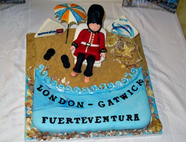 Cake of the Week Vote: Cake 12 - Norwegian's Fuerteventura to London Gatwick