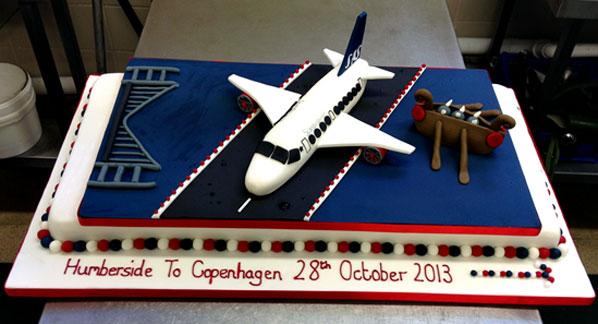 Cake of the Week Vote: Cake 15 - SAS Humberside to Copenhagen