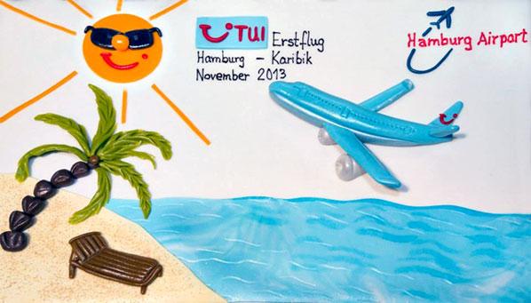 Cake of the Week Vote: Cake 18 - TUIfly's Hamburg to Punta Cana