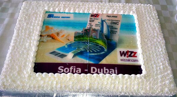 Cake of the Week Vote: Cake 20 - Wizz Air's Sofia to Dubai Al Maktoum