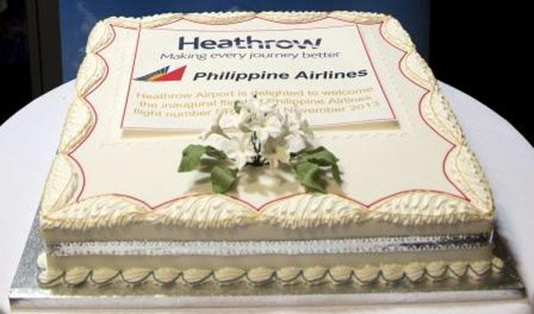 Cake 24 - Philippine Airlines' London Heathrow to Manila