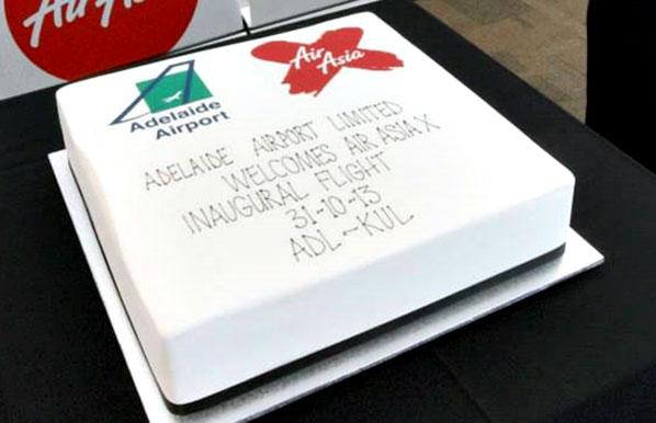 Cake of the Week Vote: Cake 3 - AirAsia X' Adelaide to Kuala Lumpur