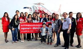 Thai AirAsia makes Phitsanulok its latest domestic destination