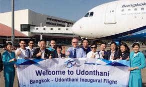 Bangkok Airways takes on Thai Airways on Udon Thani route