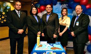 LAN Airlines begins Bogotá-Aruba service
