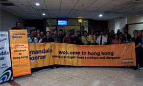 Tigerair Mandala adds two more routes to Hong Kong