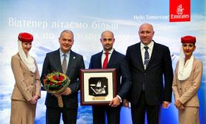 Emirates starts Kiev Boryspil link
