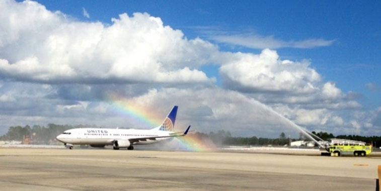 United Airlines Denver to Fort Myers 20 December