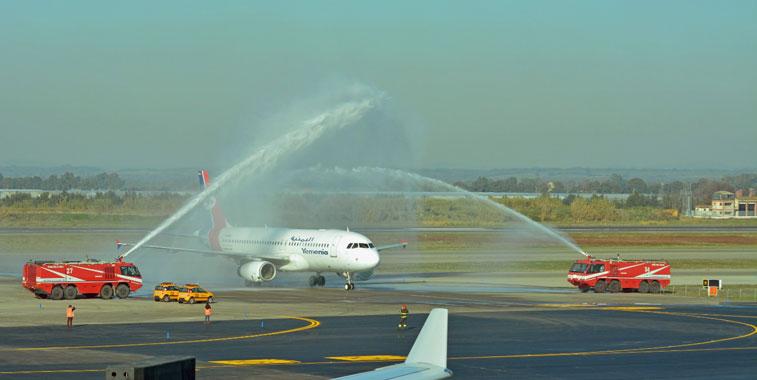 Yemenia Yemen Airlines Sana'a to Rome Fiumicino 17 December