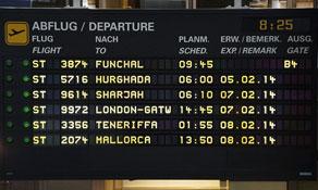 Germania starts weekly flights from Erfurt to Madeira