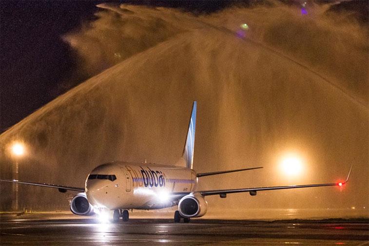 The FTWA for flydubai's Dubai to Krasnodar on 20 September 2013