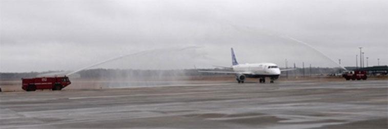 The FTWA for JetBlue Airways' New York JFK to Savannah.
